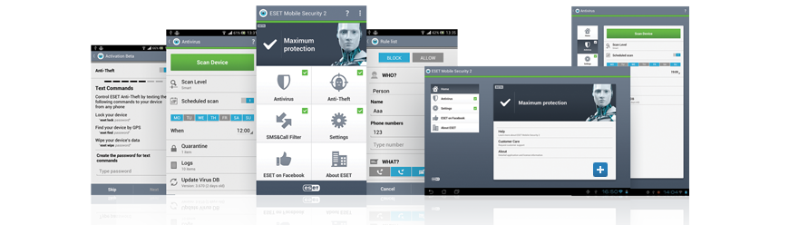 Gallery - ESET Mobile Security 2 for Android Beta